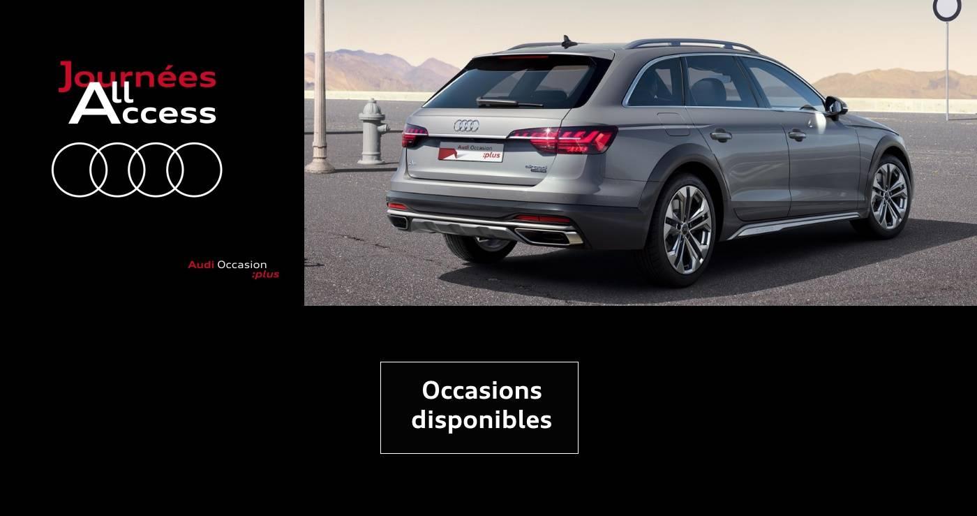 Audi journées all access promo occasion