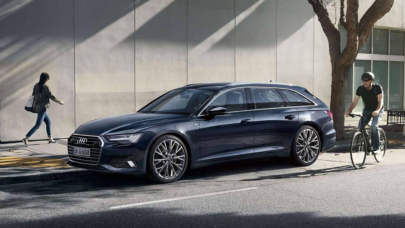 Nouvelle Audi A6 avant photo avant profil