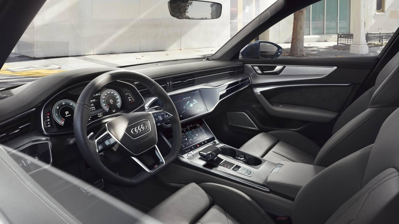 Nouvelle Audi A6 avant intérieur siege