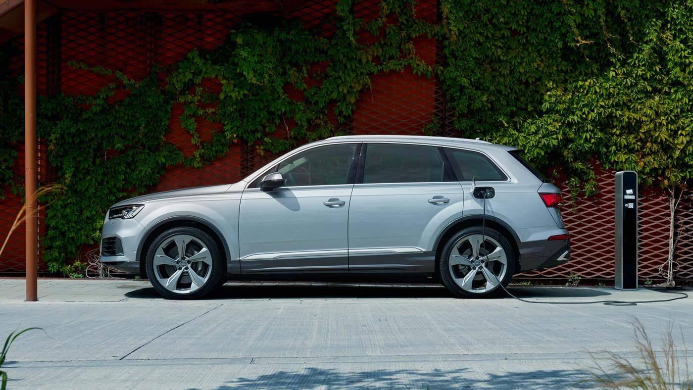 Audi Q7 TFSI e hybride plugin rechargeable 2020