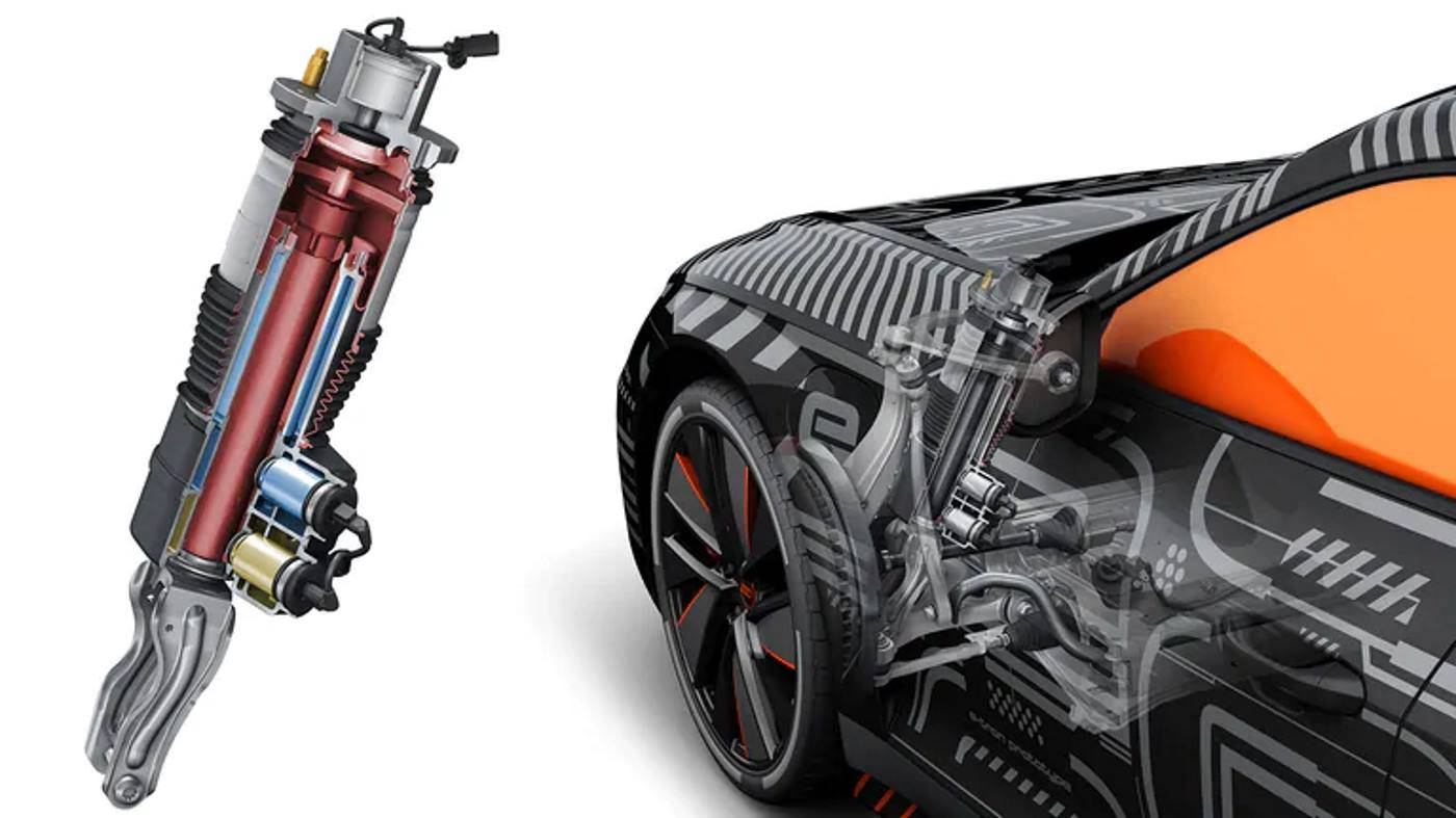 Suspension Audi e-tron GT 2021