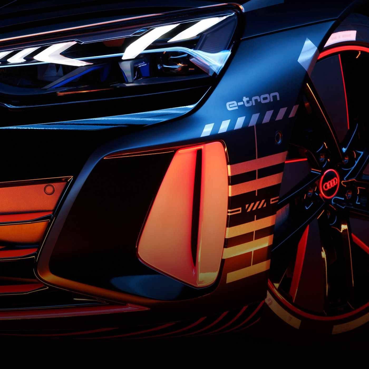 Audi e-tron GT phare avant