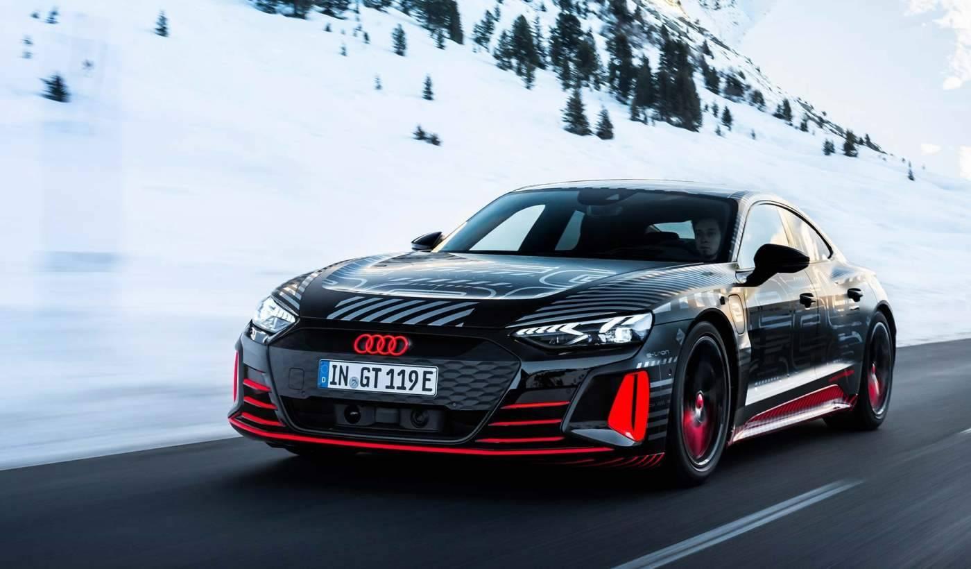 Nouvelle Audi e-tron GT Sportive 100% électrique