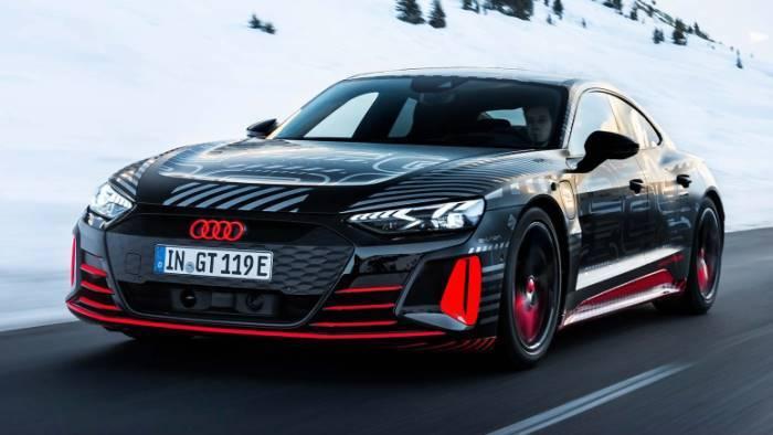 Nouvelle Audi e-tron GT 700