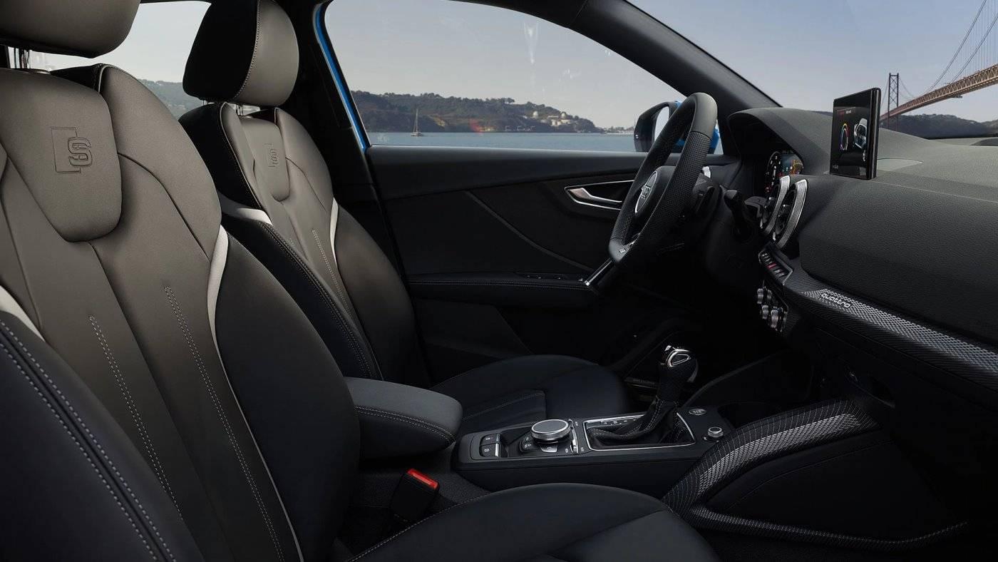 Intérieur Audi Q2 Nouvelle siège cuir
