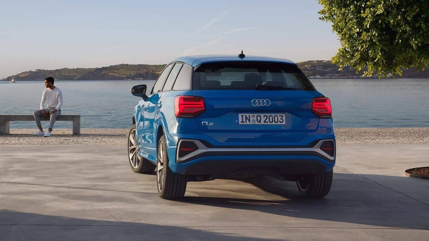 Nouvelle Audi Q2 arrière
