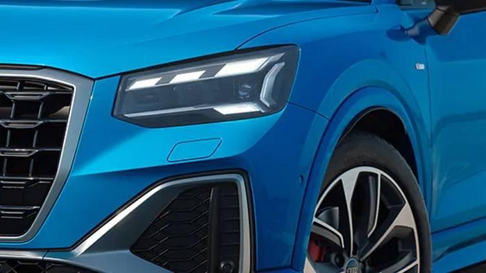 Nouvelle Audi Q2 2021 phares matrix led
