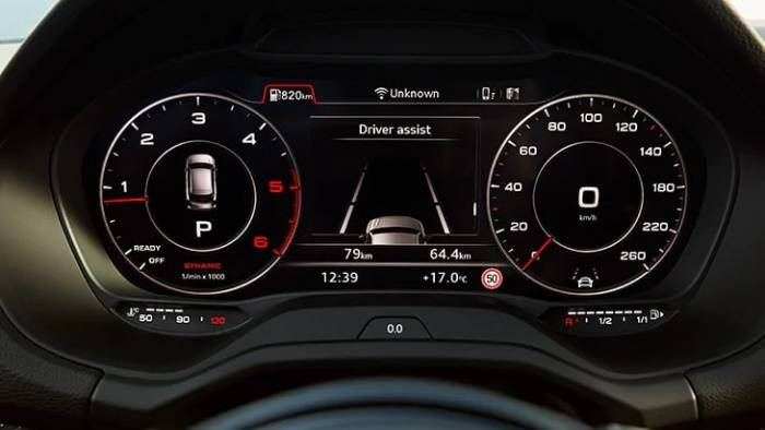 Audi virtual cockpit Q2 2021