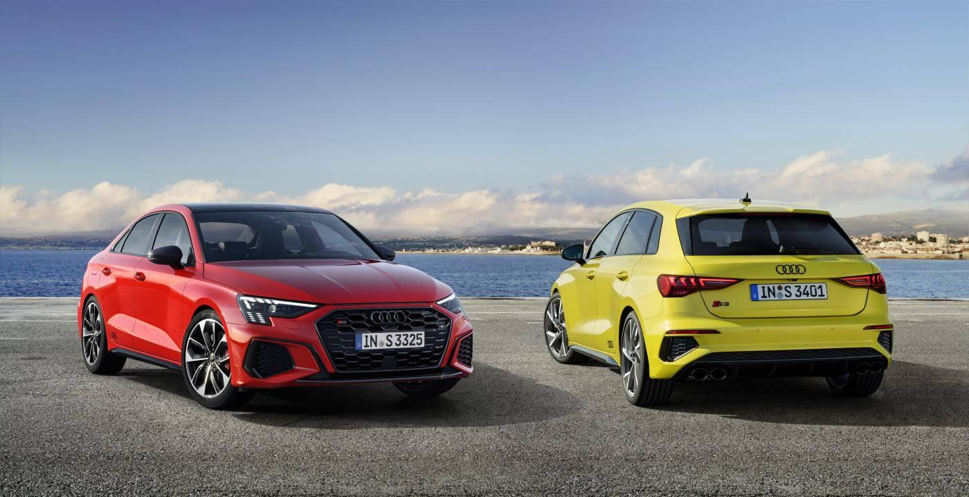Nouvelle Audi S3 Berline Sportback 2020 différence