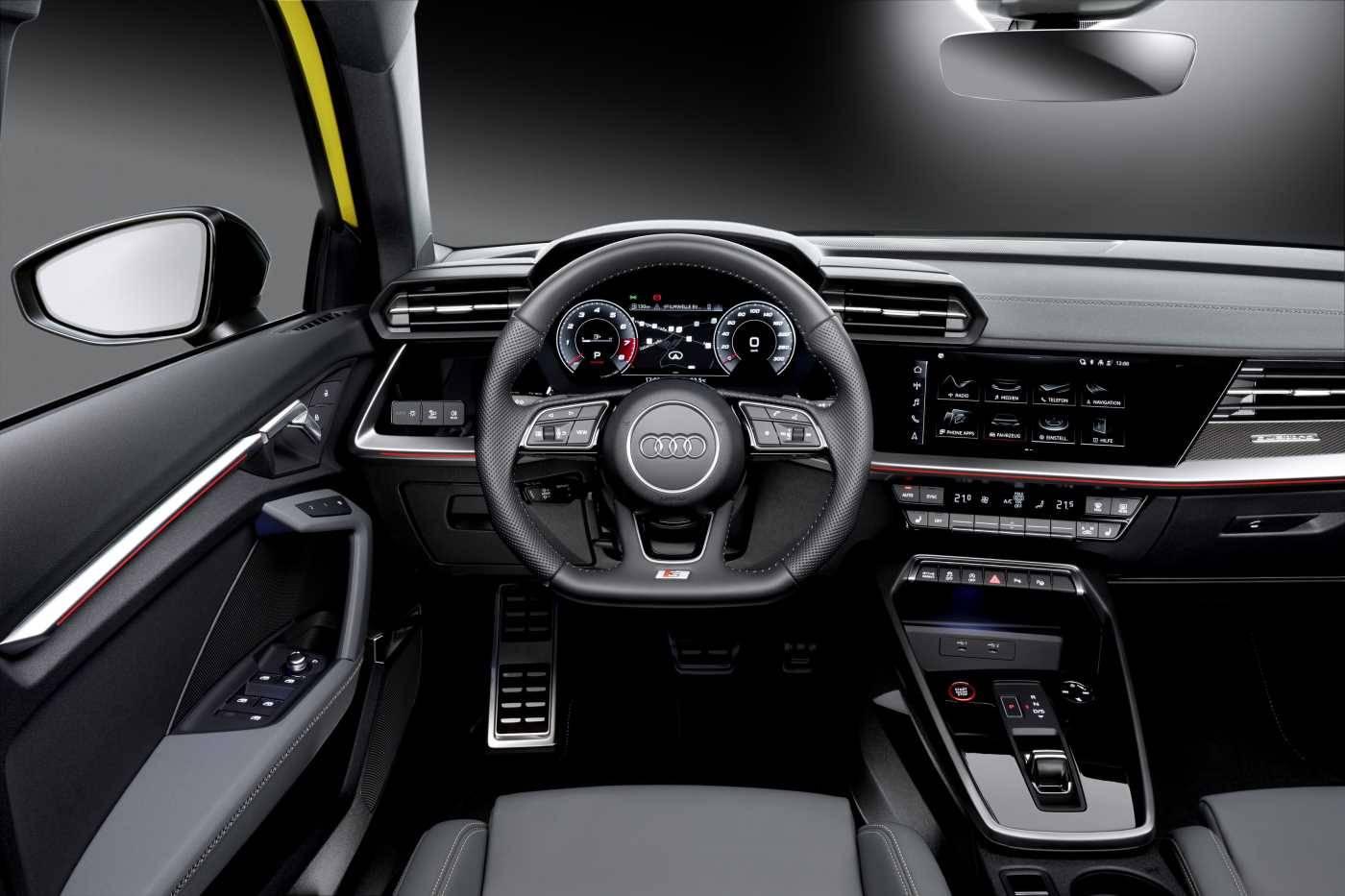 Nouvelle Audi S3 Sportback prix conducteur volant