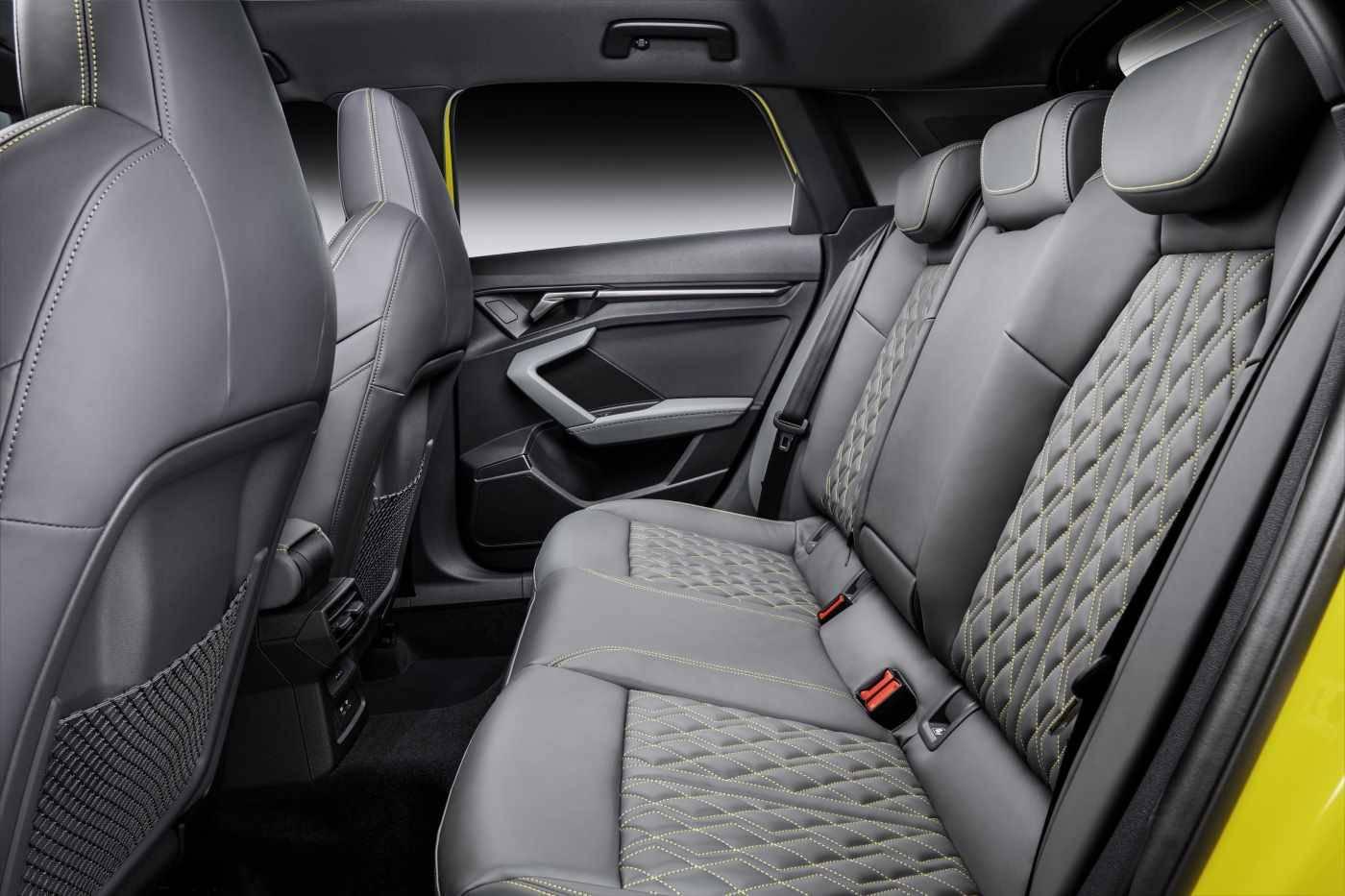 Nouvelle Audi S3 Sportback place arrière passager