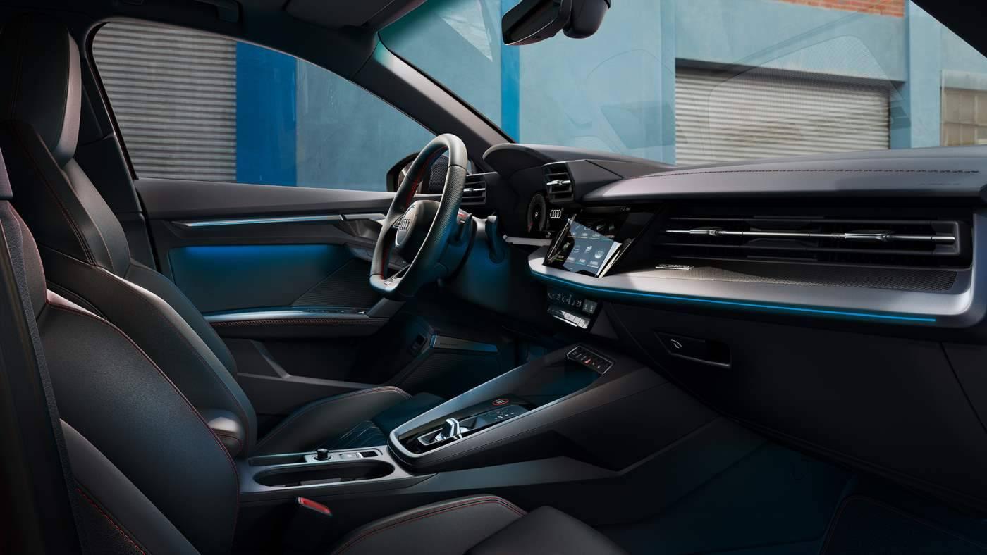 Nouvelle Audi S3 Berline 2020 prix intérieur siège
