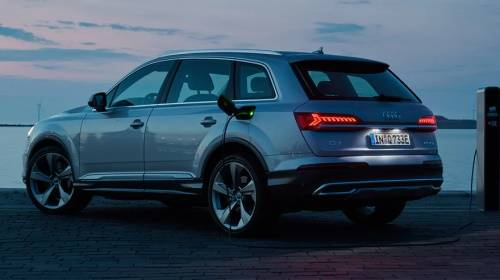 Audi Q7 TFSI e hybride rechargeable SUV