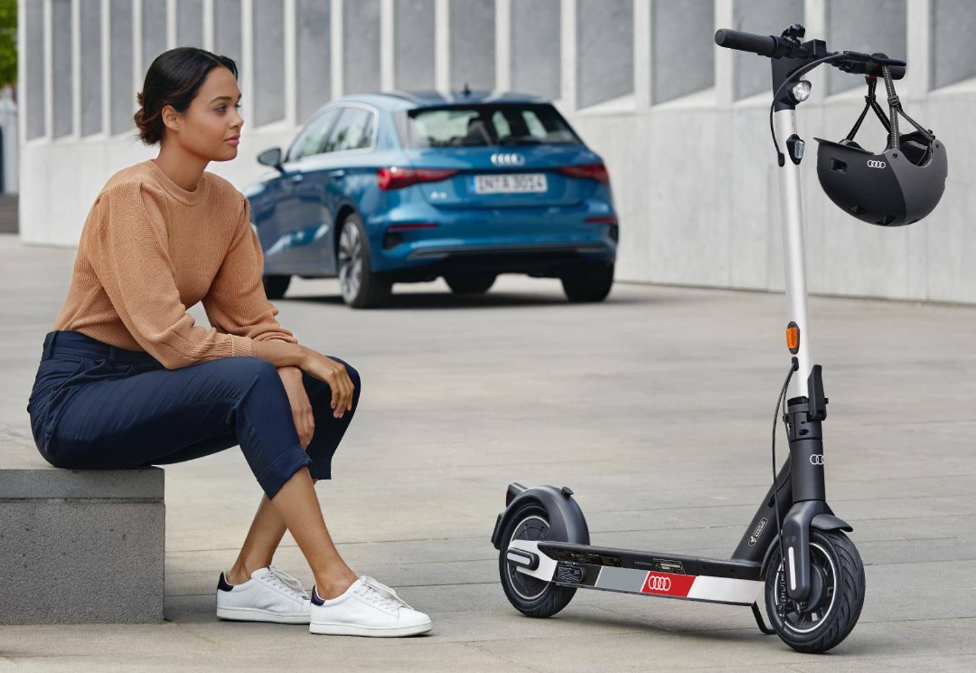 Trottinette électrique Audi prix tarif autonomie