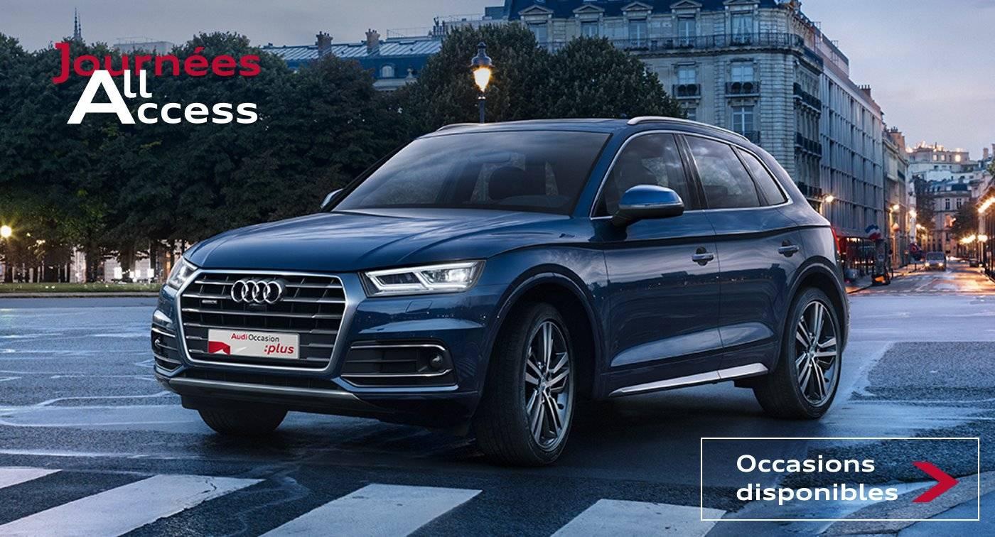 Audi Occasion promo offre all access prix loa