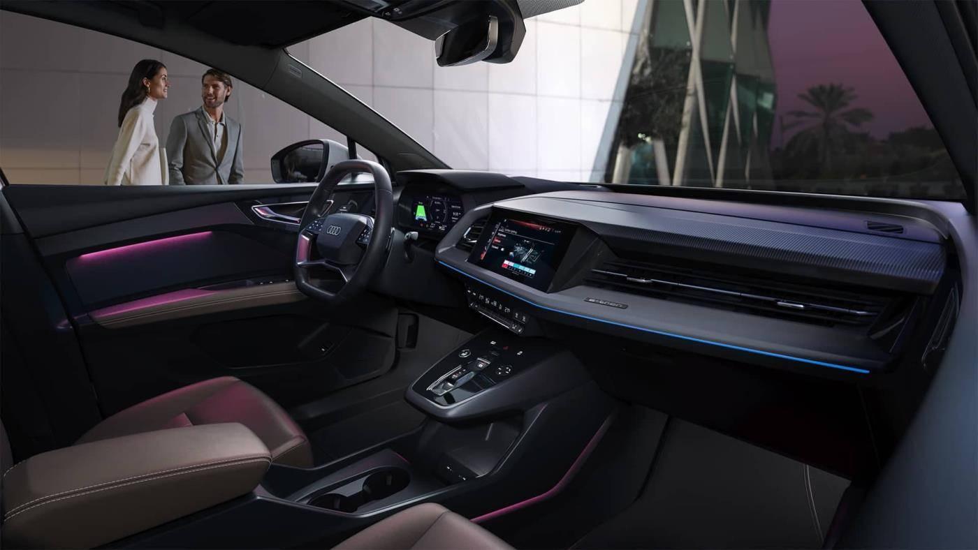 Audi Q4 e-tron Sportback intérieur passager