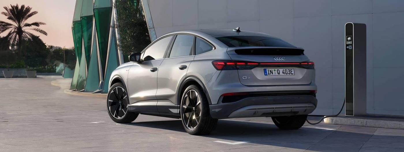 Audi Q4 e-tron Sportback electrique nouveau