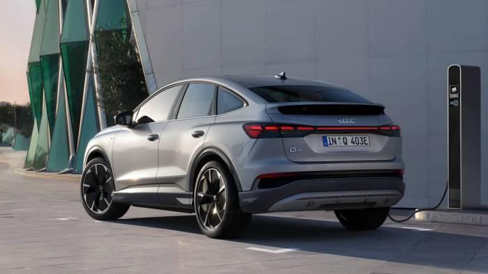 Audi Q4 e-tron Sportback électrique