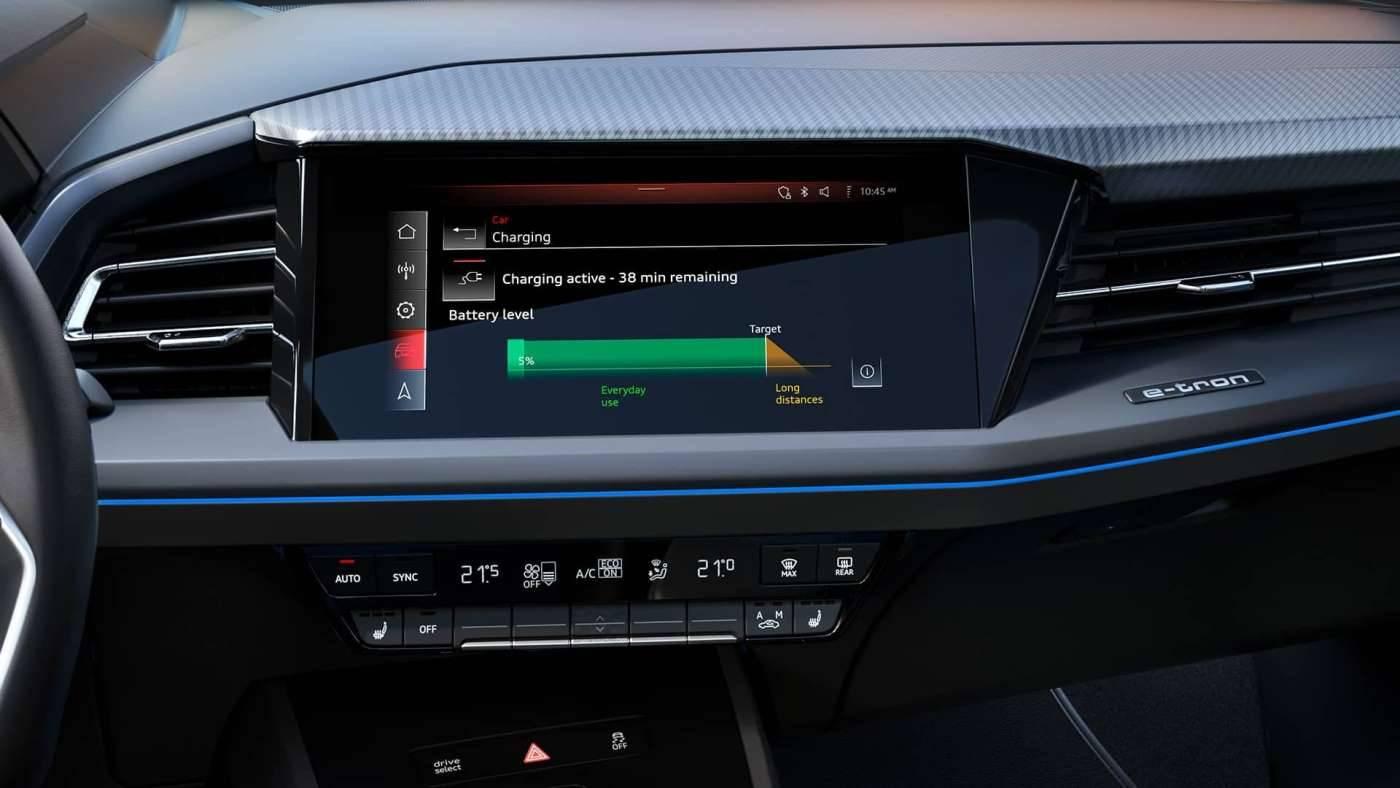 Audi Q4 e-tron Sportback écran digital