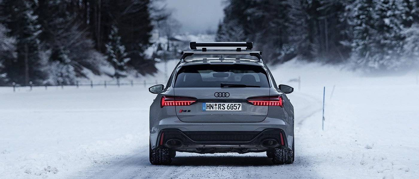 Loi montagne roues et pneus neige Audi