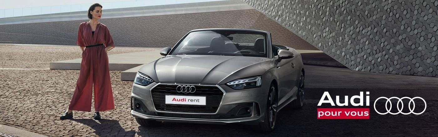 Offre Location Audi rent A5 Cabriolet 25% promo