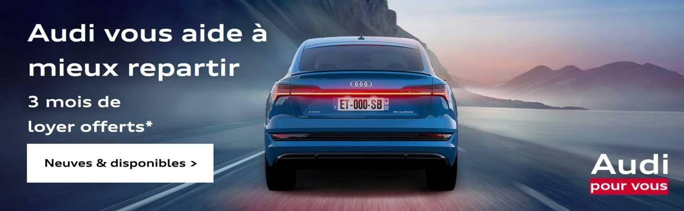 Offre promo Audi neuve prix loyer offert