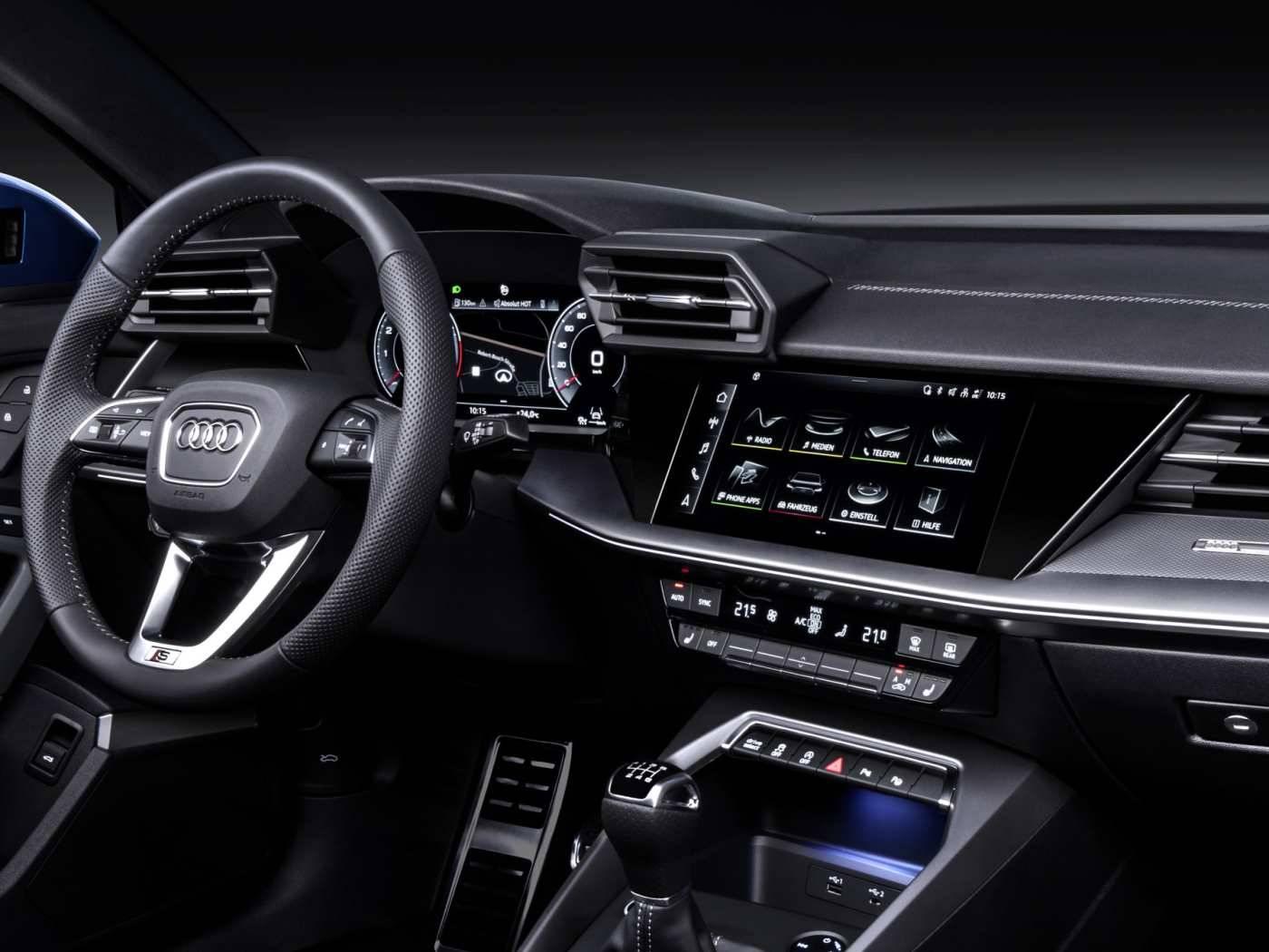 Nouvelle Audi A3 Sportback 2020 MMI écran