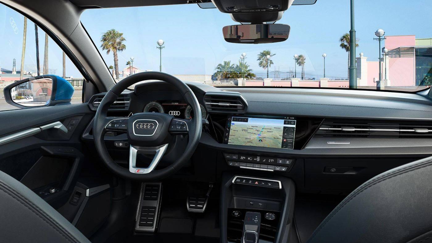Cockpit intérieur Nouvelle Audi A3 Sportback 2020