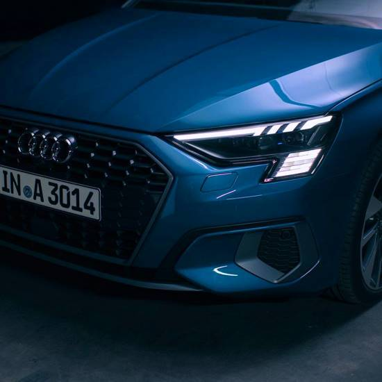 Nouvelle Audi A3 Sportback 2020 matrix led phare