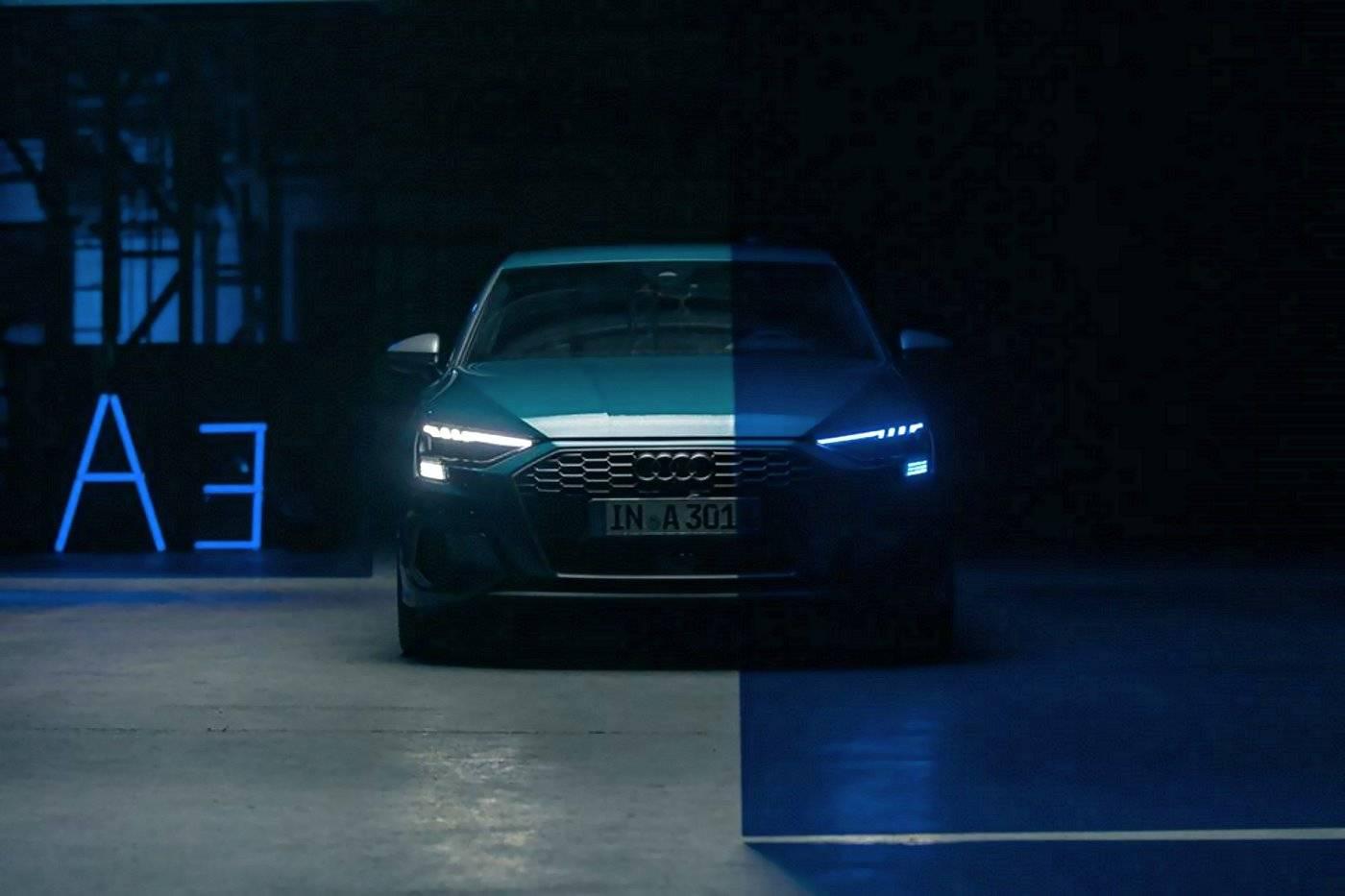 Nouvelle Audi A3 Sportback 2020 vue de face