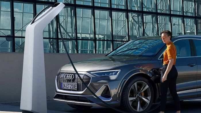 Gamme Audi électrique