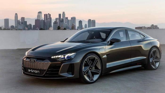 Audi e-tron GT électrique prototype 2020