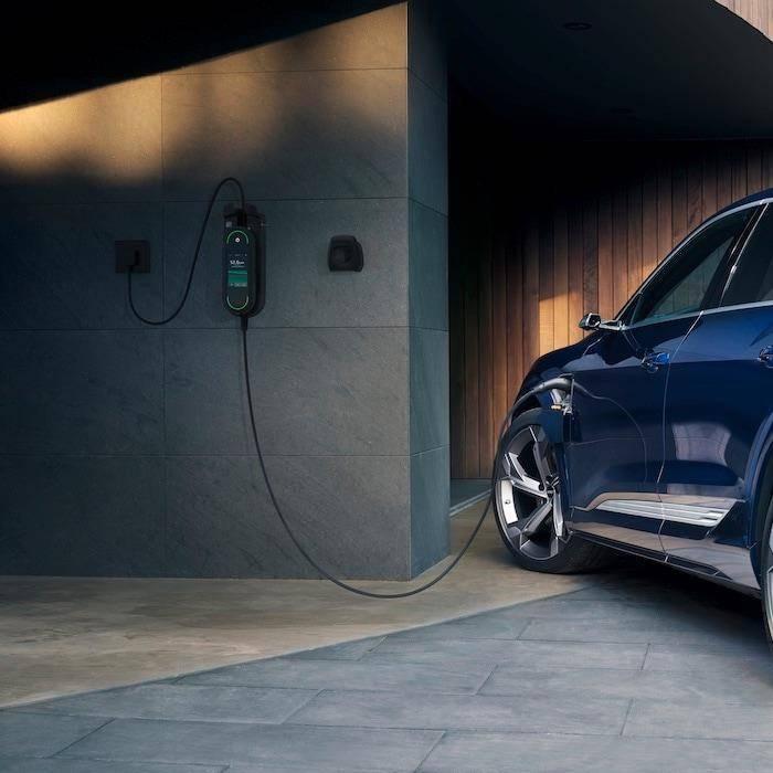 Audi e-tron recharge électrique à domicile