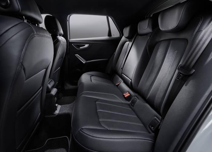Audi Q2 banquette arrière passagers