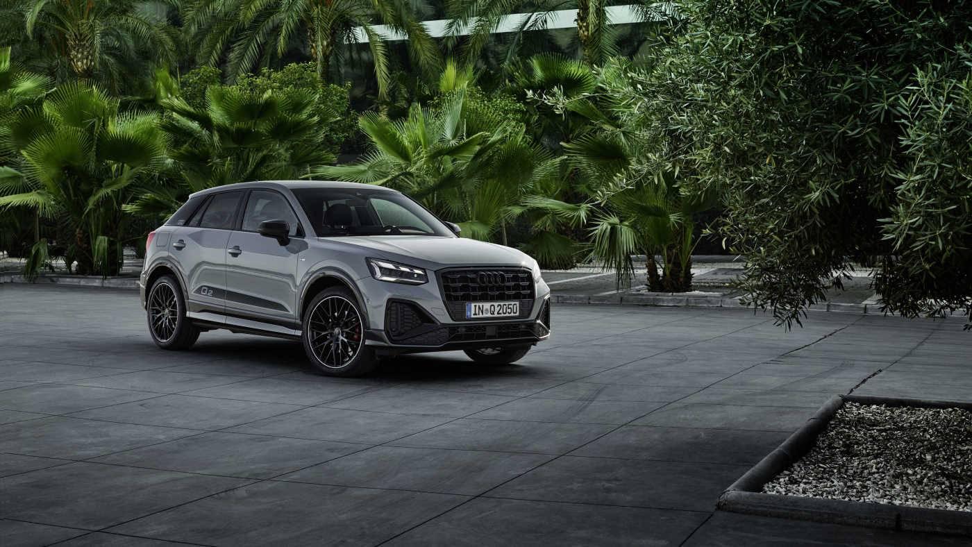 Audi Q2 face avant extérieur 2020 2021 tarif