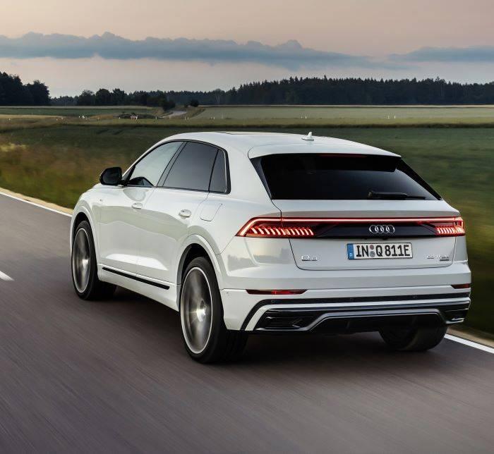 Audi Q8  hybride quattro 4 roues motrices