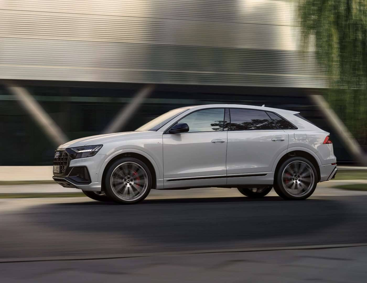 Audi Q8 TFSIe hybride rechargeable moteur puissanc