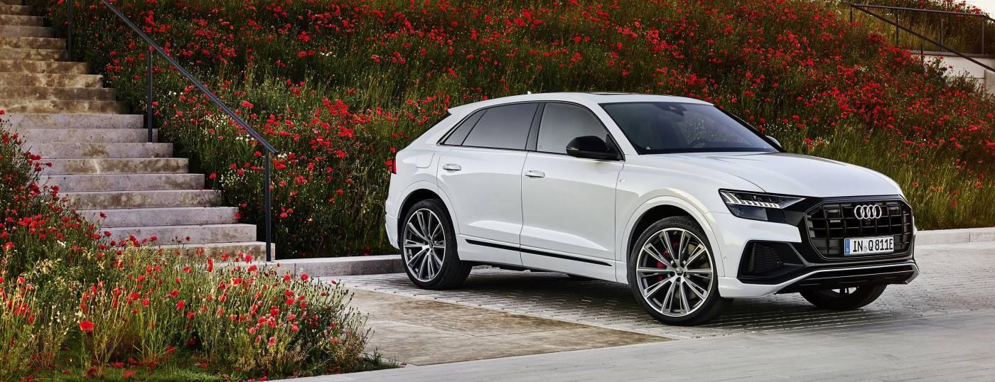 nouvelle Audi Q8 hybride rechargeable electrique