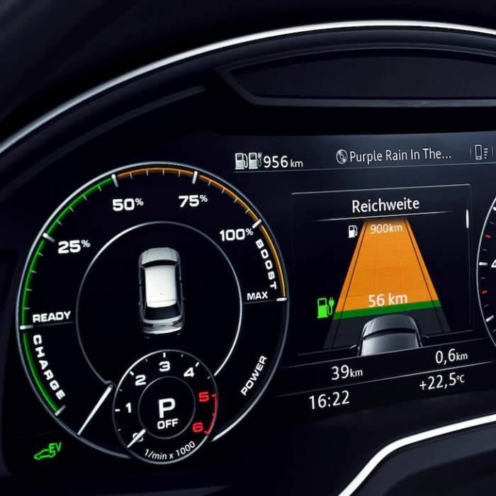 Audi Q8 TFSIe hybride rechargeable autonomie reste