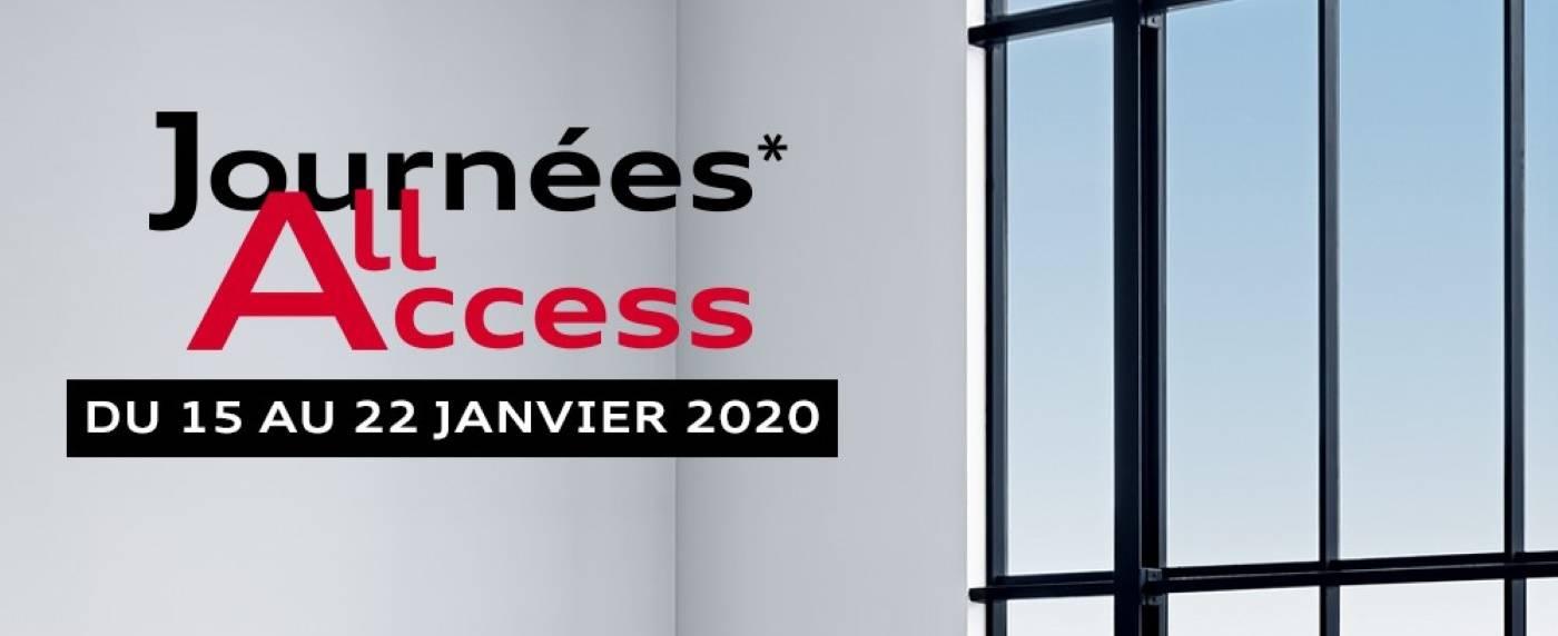 Journées Audi All Access Audi neuve 2020
