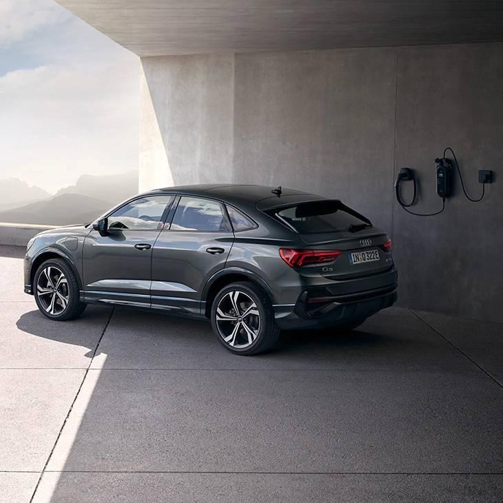 Audi Q3 Sportback hybride électrique recharge