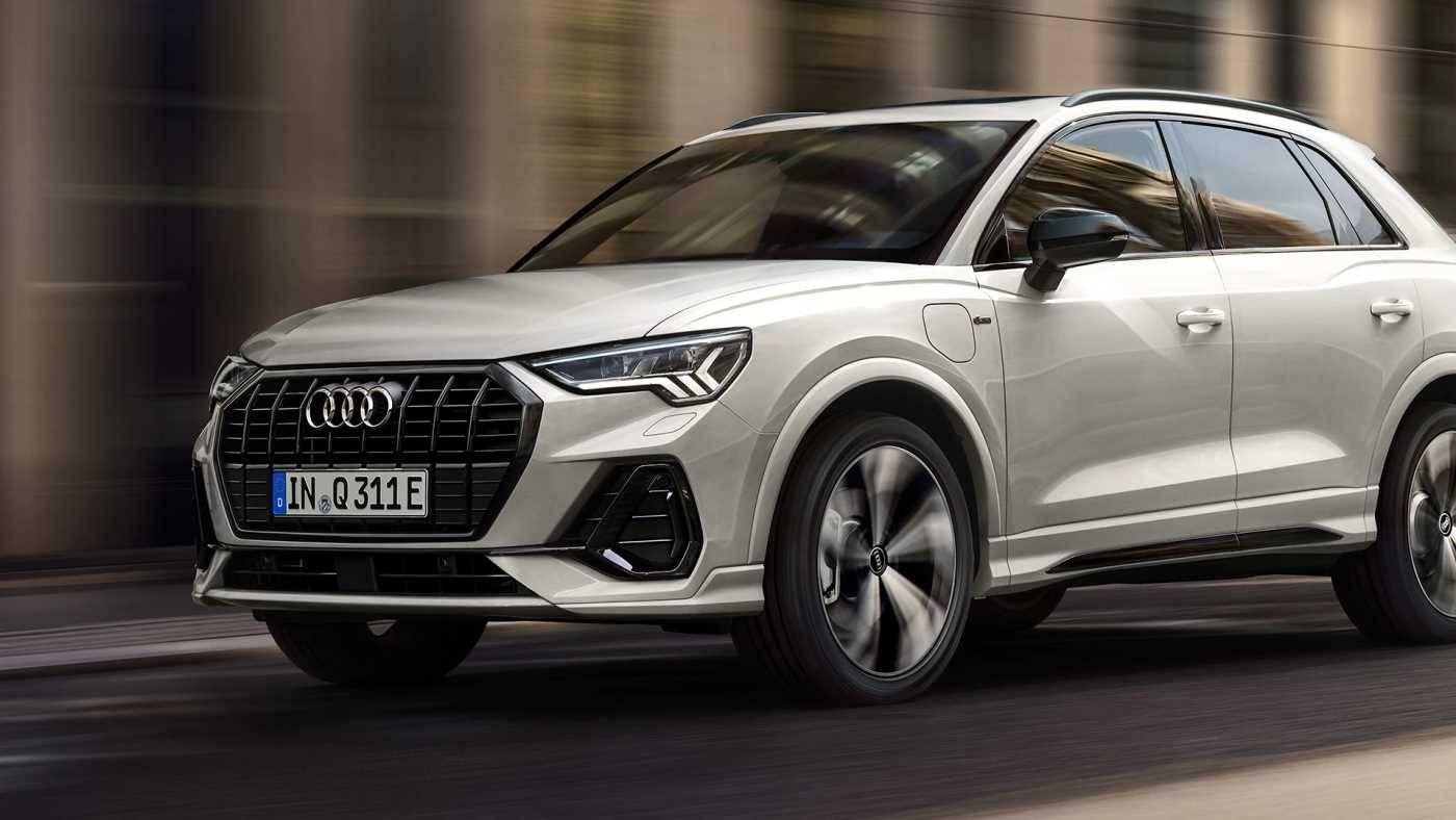 Nouvelle Audi Q3 TFSIe route