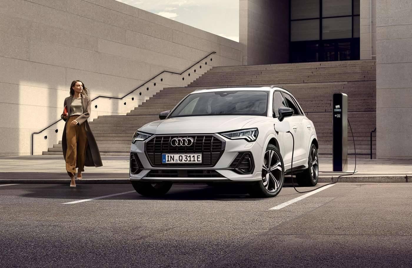 Nouvelle Audi Q3 TFSIe hybride électrique essence