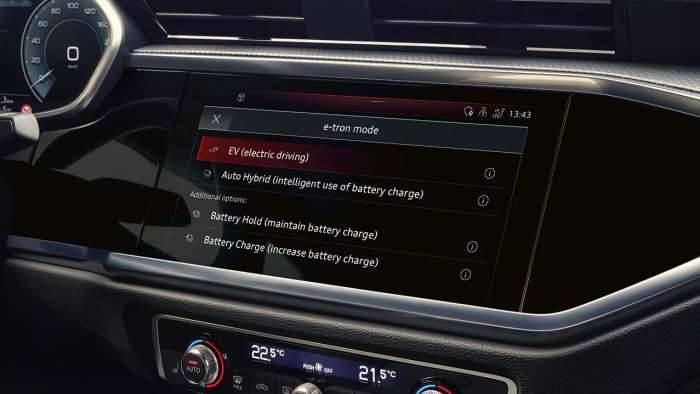 Audi Q3 ecran