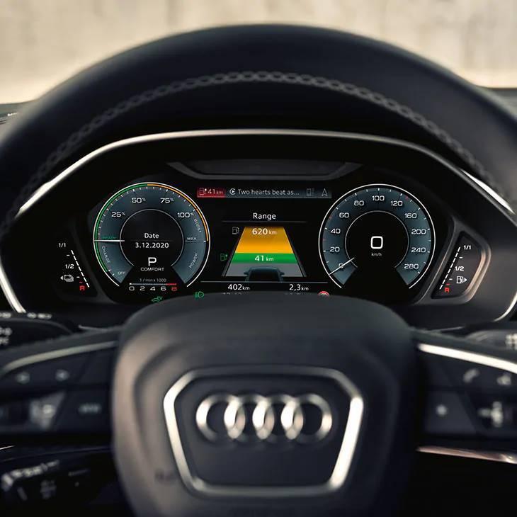 Audi Q3 TFSIe hybride consommation autonomie