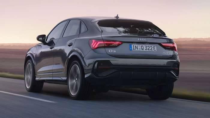 Audi Q3 Sportback TFSIe hybride électrique essence