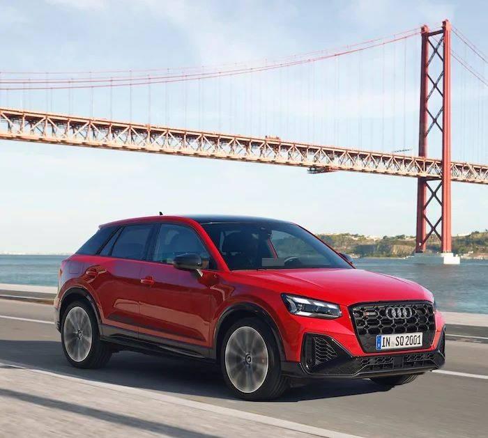 Nouvelle Audi SQ2 pont san francisco