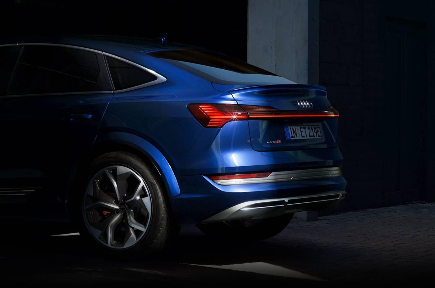Audi e-tron S Sportback pare choc arrière
