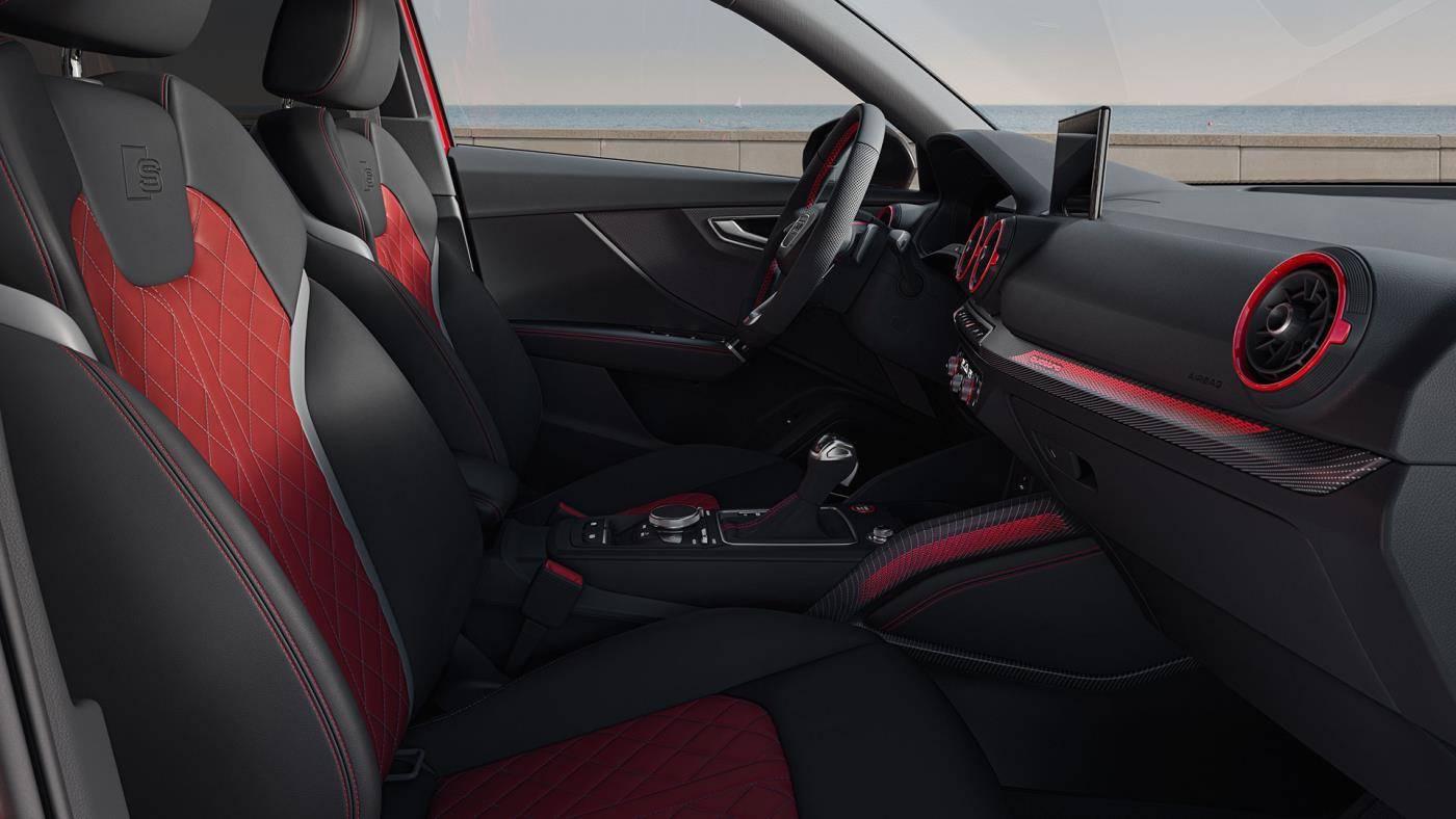 intérieur Audi SQ2 2021
