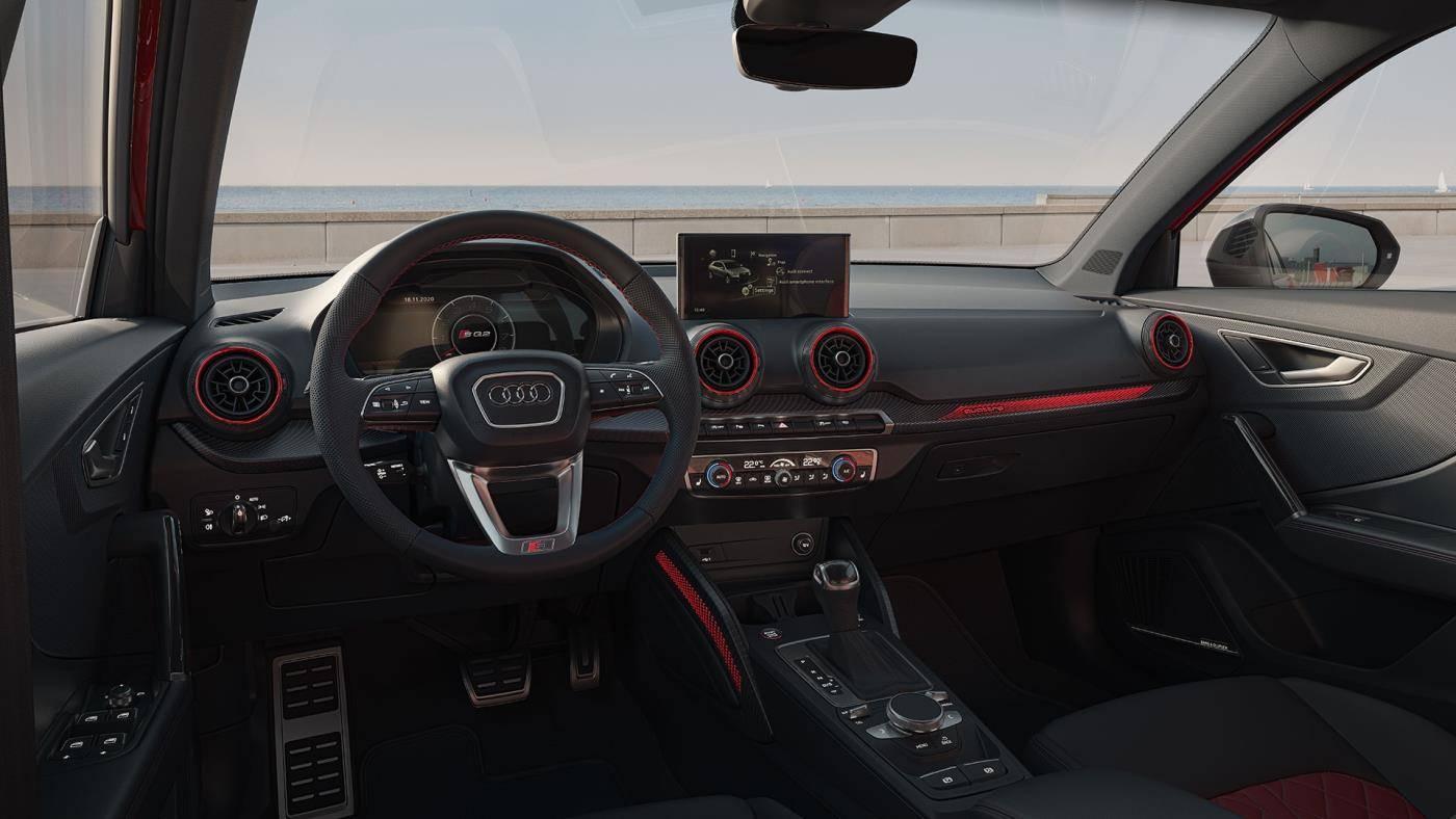 Nouvelle Audi SQ2 tableau de bord cockpit